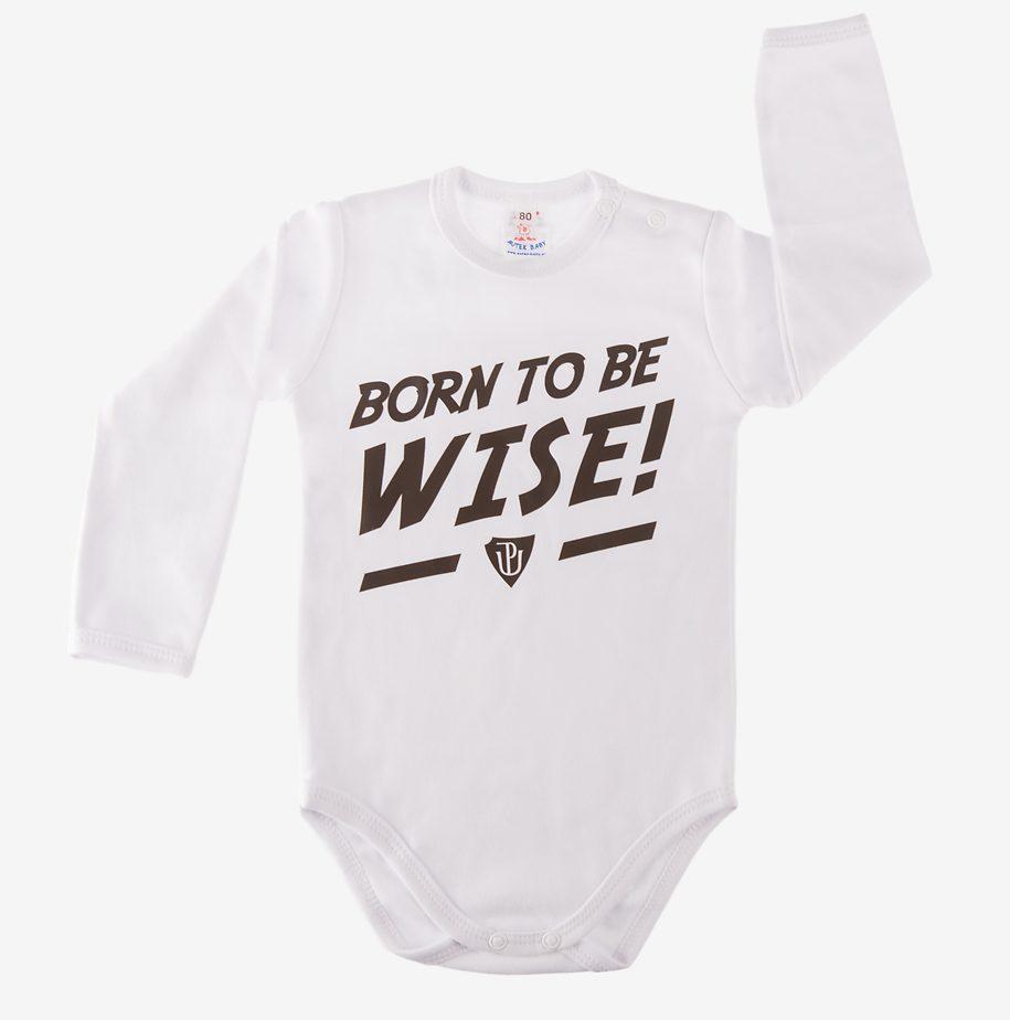 Novinka skladem! Dětské body BORN TO BE WISE