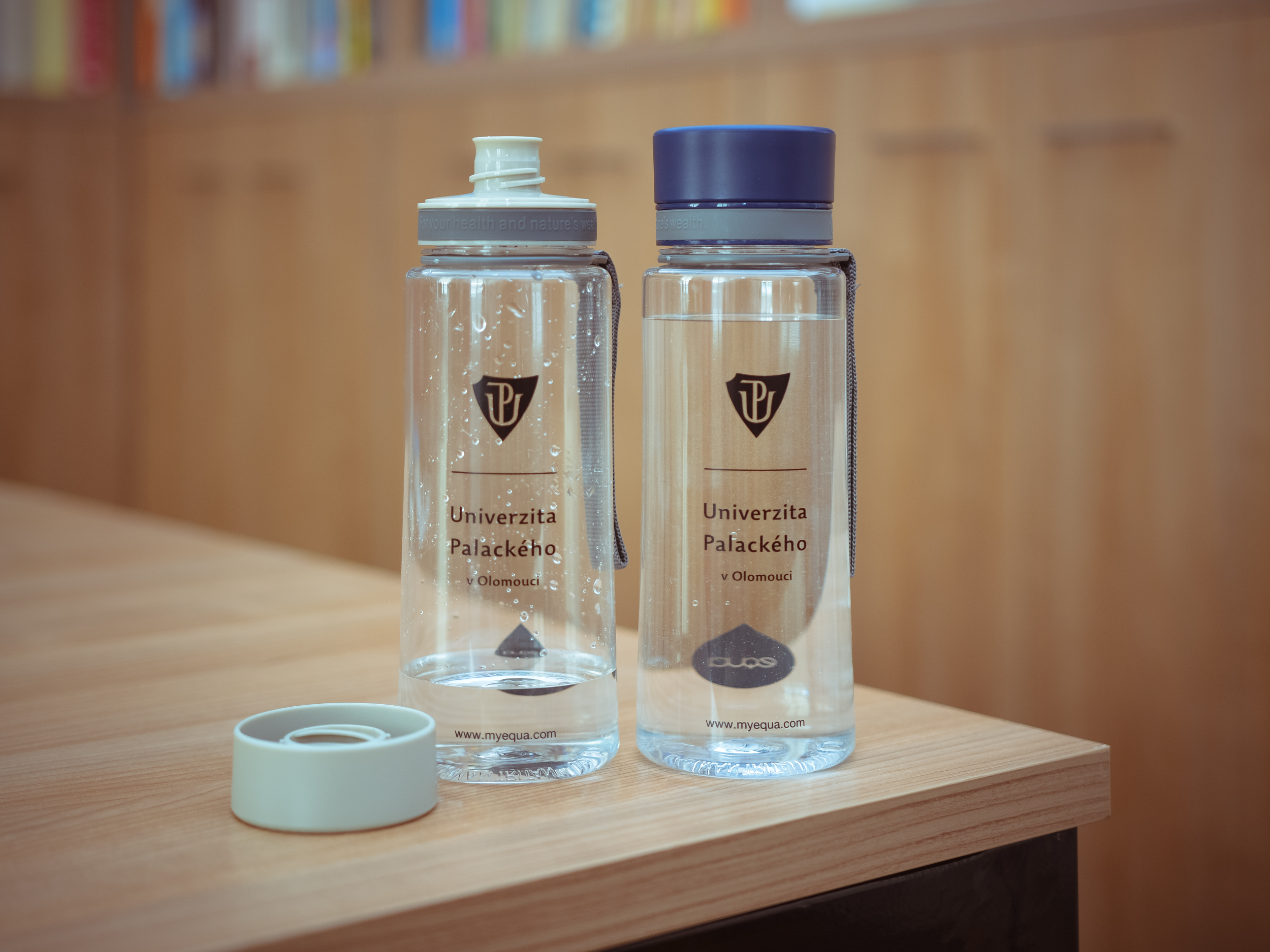 Limitovaná edice lahví na vodu