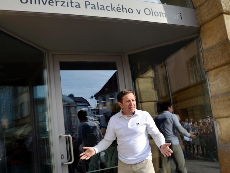 Pan Rektor Otevírá UPoint