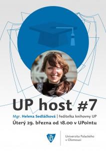 UP host plakátek Sedláčková
