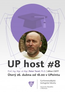 UP host Peter Tavel