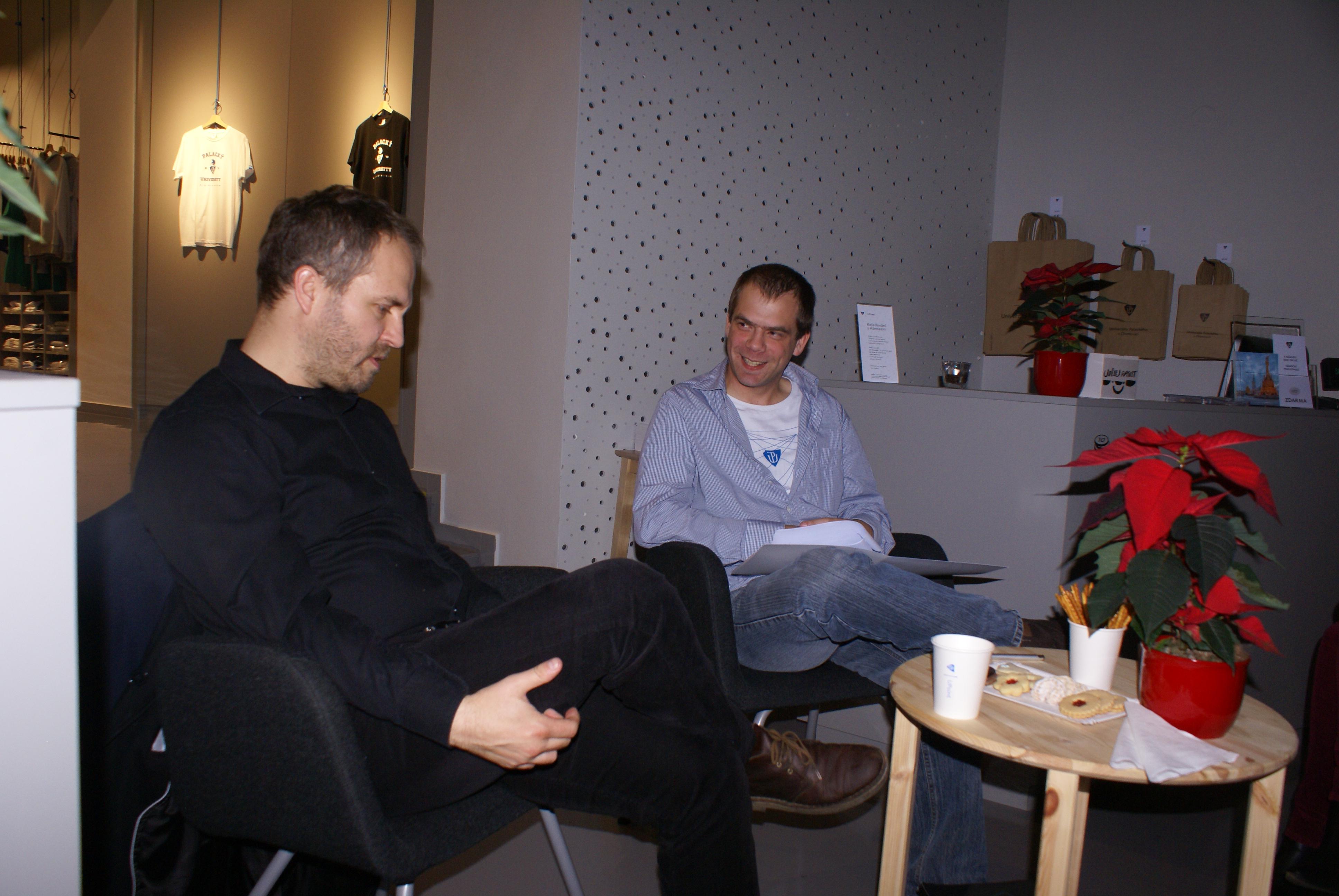 UP host - Jiří Lach
