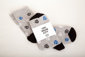 Ponožky UP Colour - černé 01